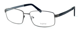 "Calabria Optical Designer Eyeglasses ""Big And Tall"" Style 12 in Gunmetal :: Rx Single Vision"