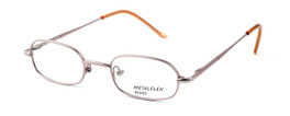 Calabria Kids Fit MetalFlex Designer Eyeglasses 1005 in Pink :: Rx Single Vision