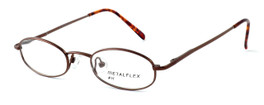 Calabria Kids Fit MetalFlex Designer Eyeglasses H in Brown :: Rx Single Vision