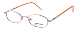 Calabria Kids Fit MetalFlex Designer Eyeglasses XX in Pink :: Rx Single Vision