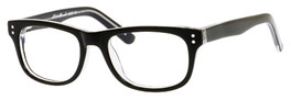 Eddie Bauer Reading Glasses Small Kids Size 8327 in Black-Crystal