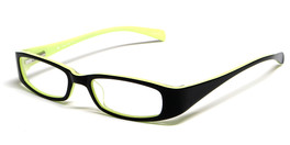 Calabria Viv Kids 119 Designer Reading Glasses in Black-Yellow