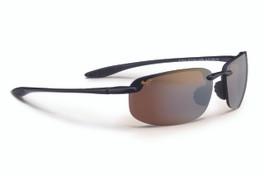 Maui Jim HO'OKIPA Gloss Black & HCL® Bronze Polarized Sunglasses