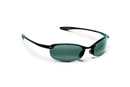 Maui Jim Reader MAKAHA Gloss Black Polarized Bi-Focal Sunglasses