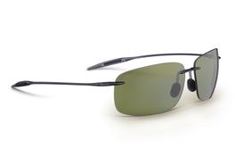 Maui Jim BREAKWALL Trans Smoke Grey & Maui High Transmission ™ Polarized Sunglasses