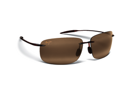 Maui Jim BREAKWALL Rootbeer & HCL® Bronze Polarized Sunglasses