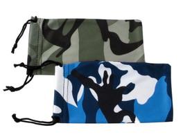 Camouflage Micro-Fiber Drawstring Case