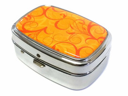Elite Light Up Portable Pill Box in Style 11