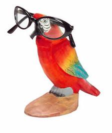 Parrot Peeper Eyeglass Holder Stand