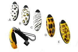 Visor Clip Eyewear Holder Safari Theme (5 PACK)
