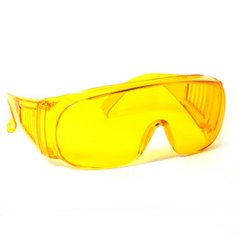 CALABRIA 1003Y Economy Fitover with UV PROTECTION IN YELLOW