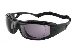 Sport Safety Glasses with Rx Insert (GREY LENS)