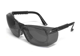 Calabria STS-401 Grey Safety Glass Z87.1+ Safety Rated with Optical Insert