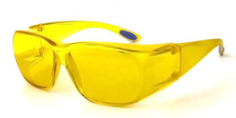 Calabria 5026 Over Safety Glasses UV Protection in Yellow
