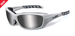 Wiley X WX Gravity Climate Control in Matte-White & Silver Flash
