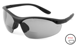 Calabria 91348 Bi-Focal Safety Glasses UV Protection in Smoke