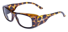Global Vision Eyewear Full Lens RX Safety Series RX-Z in Demi/Gray