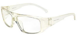 Global Vision Eyewear Full Lens RX Safety Series IROP11 in Clear