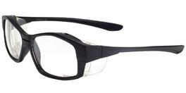 Global Vision Eyewear Full Lens RX Safety Series OP7 in Black