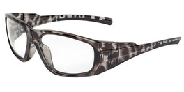 Global Vision Eyewear Full Lens RX Safety Series OP12 in Demi-Gray