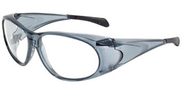 Global Vision Eyewear Full Lens RX Safety Series PS121 in Gray
