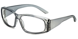 Global Vision Eyewear Full Lens RX Safety Series RX-G in Gray