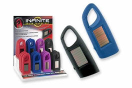 Infinite Pocket Lighted Reading Aid Solar Rechargable Solid Colored