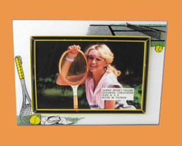 Speert Sports Photo Frame Tennis Theme (Horizontal)