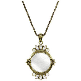 Crystal-Pedals Pendant Magnifier
