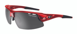 Tifosi High Performance Sunglasses Crit in Metallic-Red with 3 Lens Set