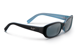 Maui Jim PUNCHBOWL Black & Blue Polarized Bi-Focal Sunglasses