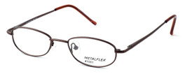 Calabria Kids Fit MetalFlex Designer Reading Glasses 1001 in Brown