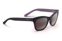 00b4cb546b Maui Jim SWEET LEILANI Mauve Matte Rubber   Maui Rose Polarized Sunglasses