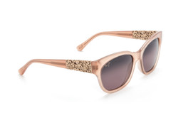 5e186d3cb5 Maui Jim MONSTERA LEAF Guava Pink with Rose Gold Monstera   Maui Rose Polarized  Sunglasses