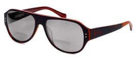 Lucky Brand Backbeat Polarized Bi-Focal Reading Sunglasses in Tortoise-Orange