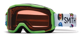 Smith Optics Snow Goggles Daredevil JR in Reactor Creature with RC36 Lens