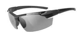 TIFOSI Tactical Eyewear Jet FC in Matte Black, Smoke / HC Red / Clear