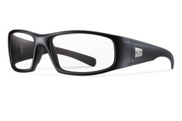 Smith Optics HIDEOUT ELITE in BLACK & CLEAR Lens