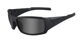 Wiley X WX Twisted in Matte Black w/ Grey Lens