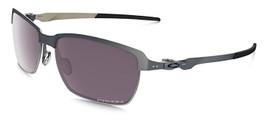 Oakley Designer Sunglasses Tinfoil OO4083-09 in Carbon & Polarized Prizm Daily Lens
