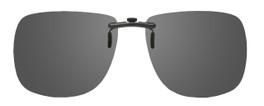 Montana Eyewear Clip-On Sunglasses C1 in Polarized Grey 62mm