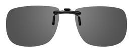 Montana Eyewear Clip-On Sunglasses C2 in Polarized Grey 54mm
