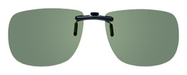 Montana Eyewear Clip-On Sunglasses C2A in Polarized G15 Green 54mm