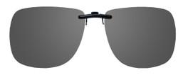 Montana Eyewear Clip-On Sunglasses C11 in Polarized Grey 62mm