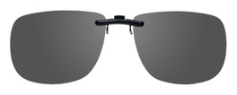 Montana Eyewear Clip-On Sunglasses C12 in Polarized Grey 54mm