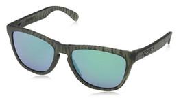 Oakley Designer Sunglasses Frogskins OO9013-69 in Matte-Olive-Ink & Jade Iridium Lens