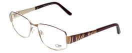 Cazal Designer Eyeglasses 1092-004 in Gold-Red 55mm :: Rx Bi-Focal