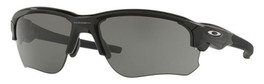 Oakley Designer Sunglasses Flak Draft OO9364-0167 in Black with Grey Lens