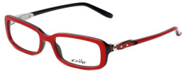 Oakley Designer Reading Glasses Premonition OX1061-0450 in Red-Black 50mm