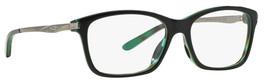 Oakley Designer Reading Glasses Nine To Five OX1127-0252 in Green-Tortoise 52mm